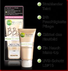 Amanda77s-Medien-MSP Gruppe Thumb in Im Test-Garnier BB Creme Miracle Skin Perfector