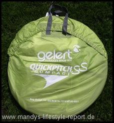 P5160642 Thumb in Produkttest: Wurfzelt Gelert Quickpitch SS Compact tent