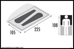 Zelt Thumb in Produkttest: Wurfzelt Gelert Quickpitch SS Compact tent