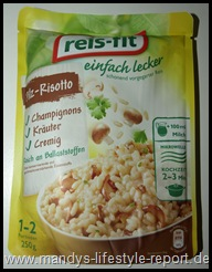 P6040818 Thumb in Produkttest: reis-fit einfach lecker - Pilz Risotto