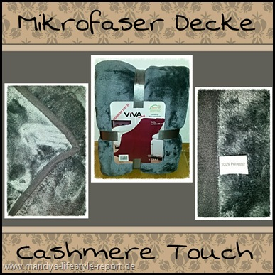 Mikro Thumb in Im Test: Mikrofaser Decke Cashmere Touch grau