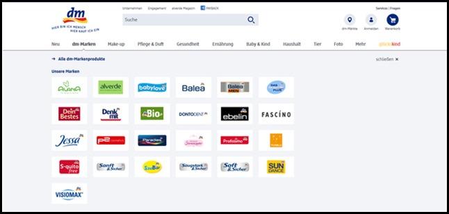 Dm-marken 620x293 Thumb in 2 von 2 Jetzt entdecken: dein dm-Markt Onlineshop