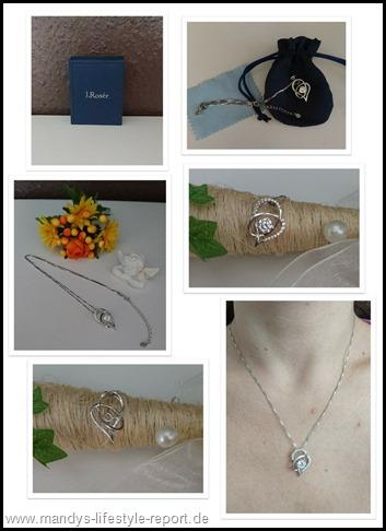 """20170715 135550 Thumb in Damen Halskette """"gewickeltes Herz"""" Silber von J.Rosée"""